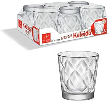 Bormioli 128756-V42 Kaledo waterglas, 24 cl, 6 stuks, transparant