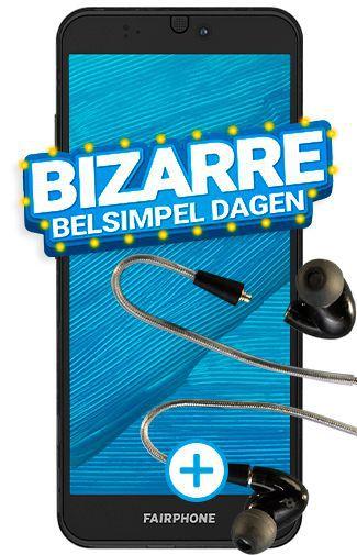 Fairphone 3 Smartphone + modulaire oordopjes @ Belsimpel