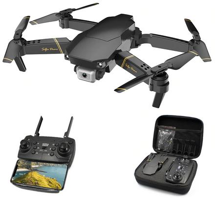 Global Drone GD89. vouwbaar, 720p/1080p/4k, fly=15min, wifi, intelligente drone voor 30eur. -22%.