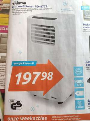 Tristar air conditioner PD-8779 @ Action