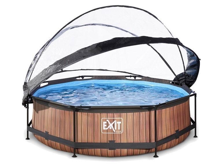 EXIT® Zwembad met overkapping @Lidl-shop
