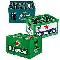 Heineken of Brand pils krat