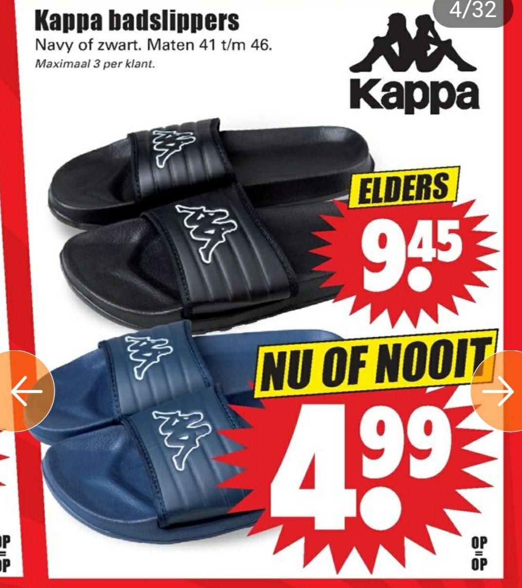 Mooie Kappa Slippers €4,99 @Dirk