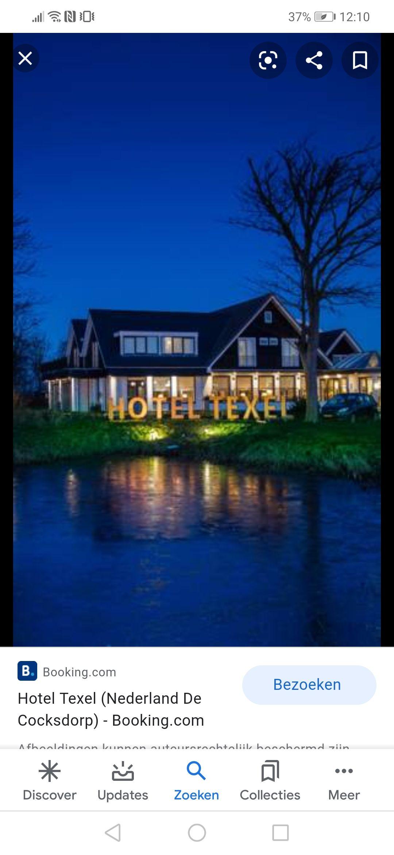 Gratis Hotelovernachtingen op Texel voor mensen in de zorg