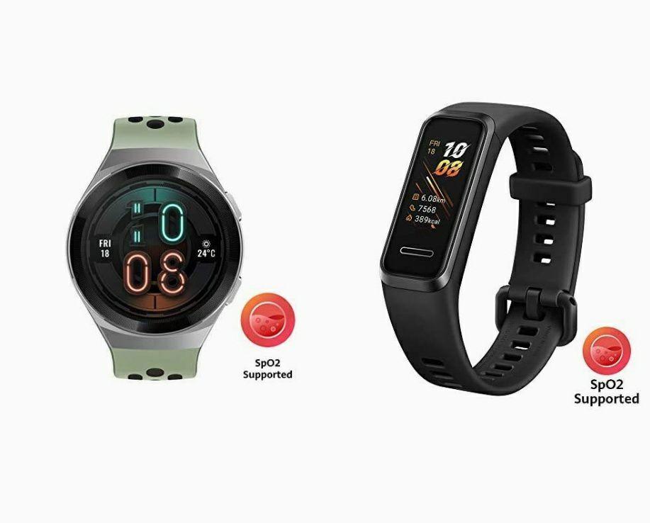 Huawei watch GT2e + Huawei band 4