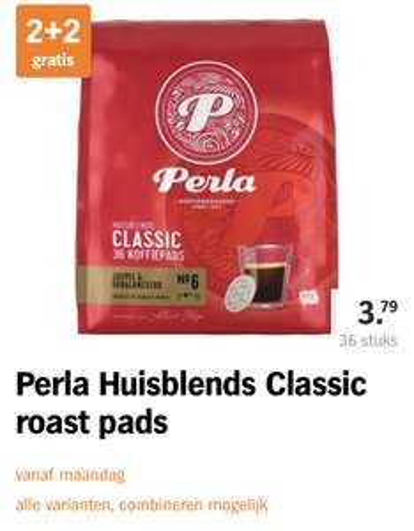 144 Senseo Perla Pads voor €0.052 per kopje
