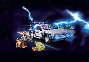 **Grensdeal** Back to the Future - PLAYMOBIL Delorean 70317