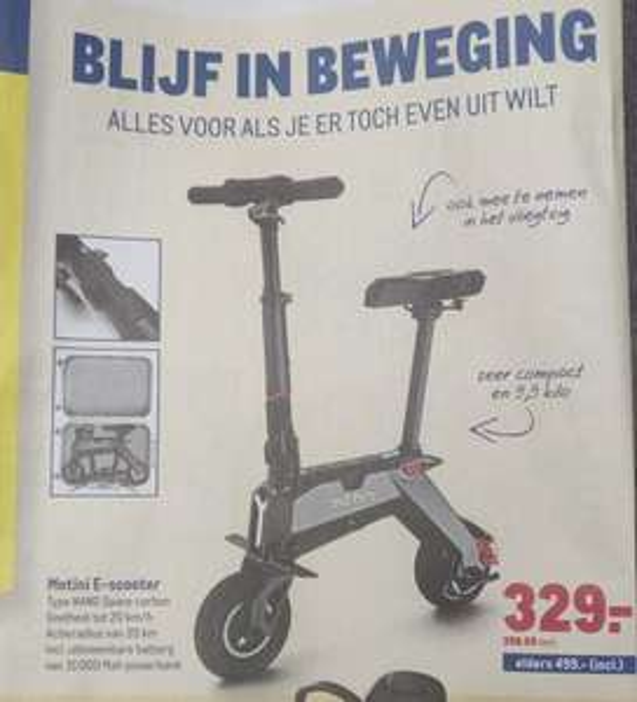 Motini e-scooter @ Makro