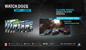 Watch Dogs (PS4) (used) voor €11,35 @ Game.co.uk
