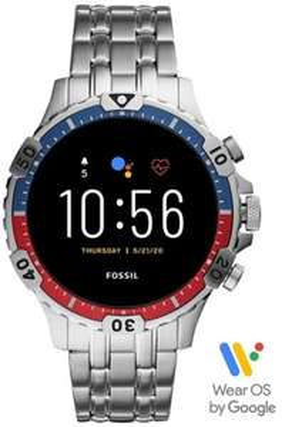 Bol.com - smartwatch - Fossil Garrett HR Gen 5 RVS (RVS)