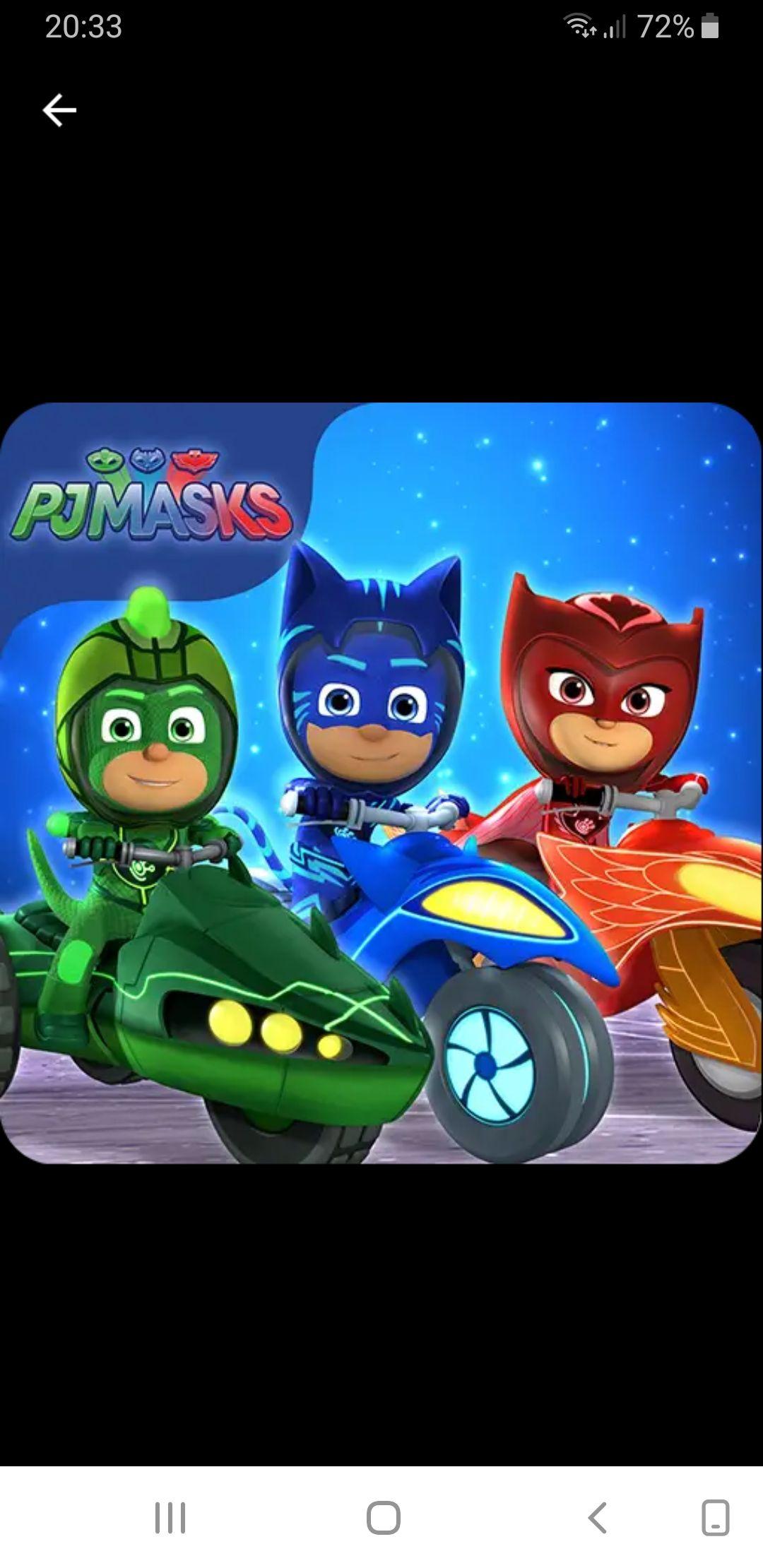 Gratis Game PJ Masks: Racing Heroes