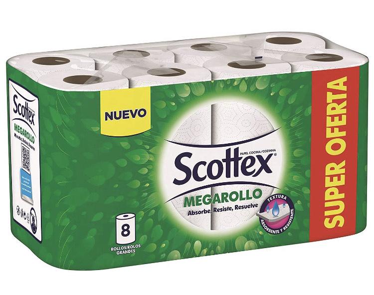 Scottex keukenpapier 8 rollen