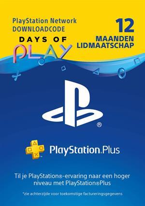 PlayStation Plus 12 maanden (digitale code) @ Game Mania