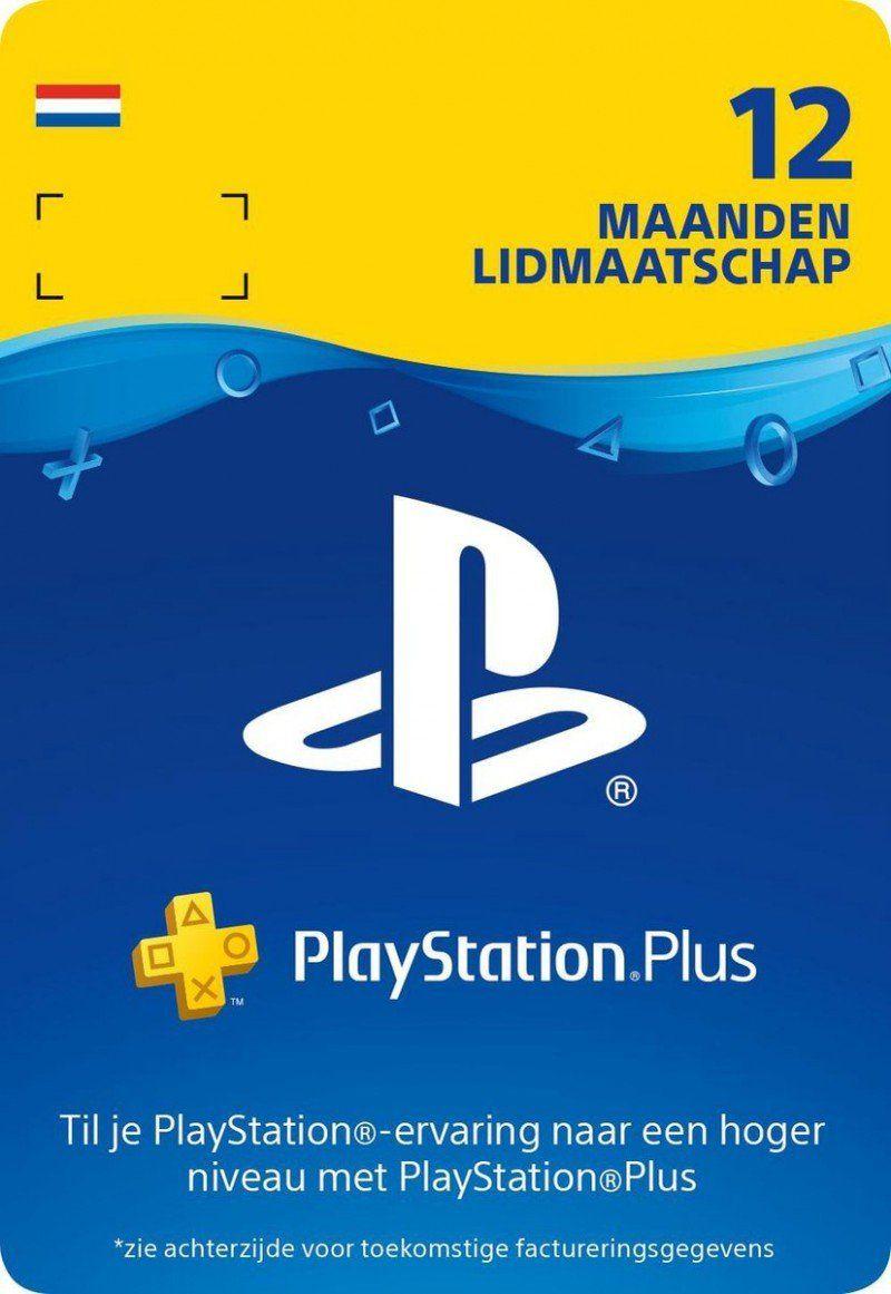 PlayStation Plus 12 maanden - €41,85 (direct digitaal geleverd)