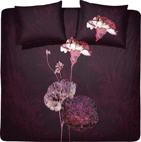Damai Carnation dekbedovertrek (240x200/220cm) burgundy @ Bol.com