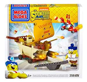 Mega Bloks Spongebob Squarepants - Movie Burger Mobile voor €10,29 @ Amazon.de