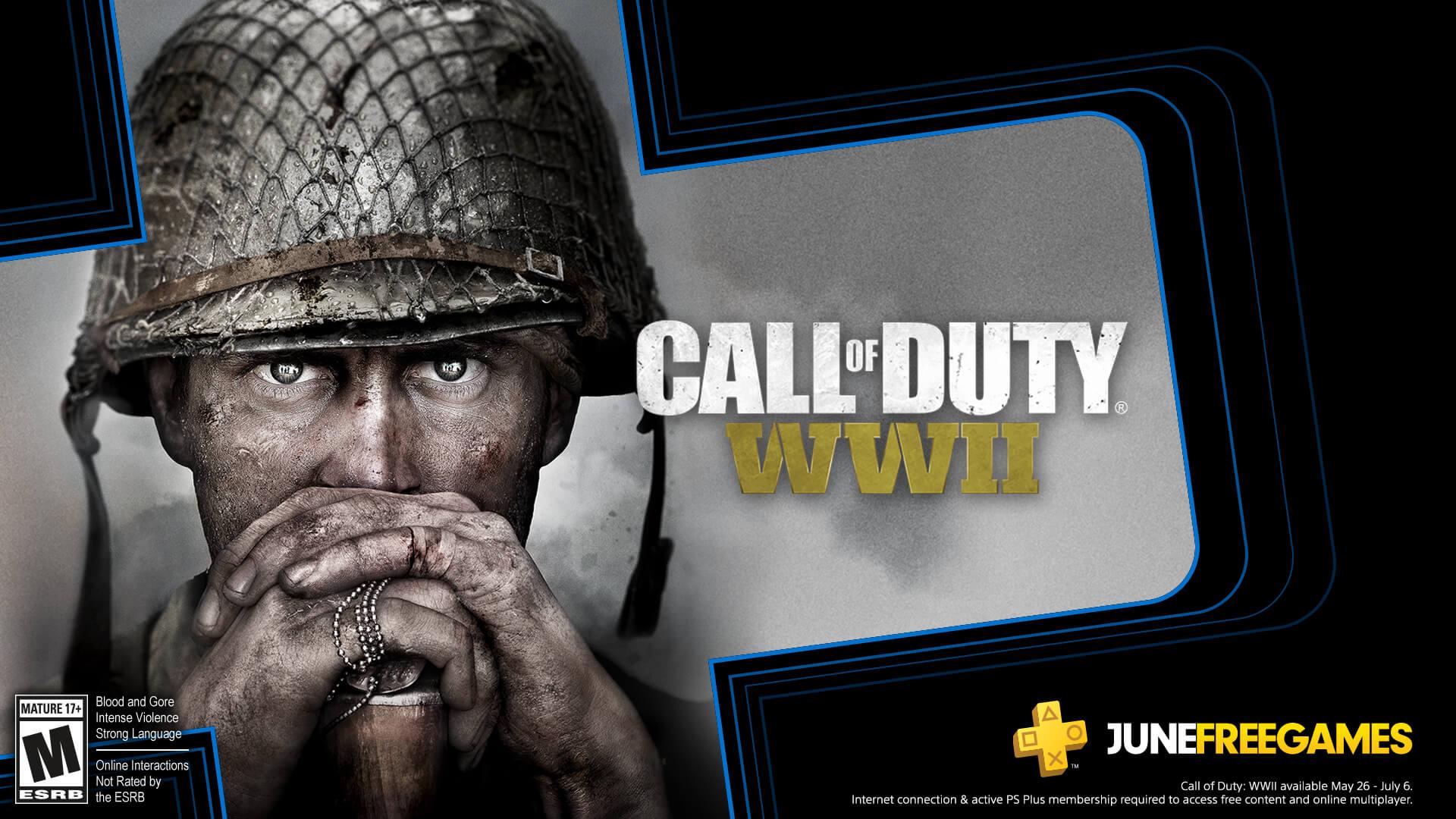 Call of Duty WWII gratis in juni bij PS Plus