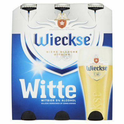 Wieckse Witte Sixpack Vomar (aanbieding = 2 x sixpack voor €4,79)