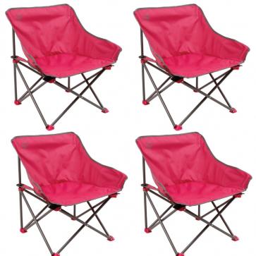 4-Pack Coleman outback kickback stoelen roze @ Dagknaller