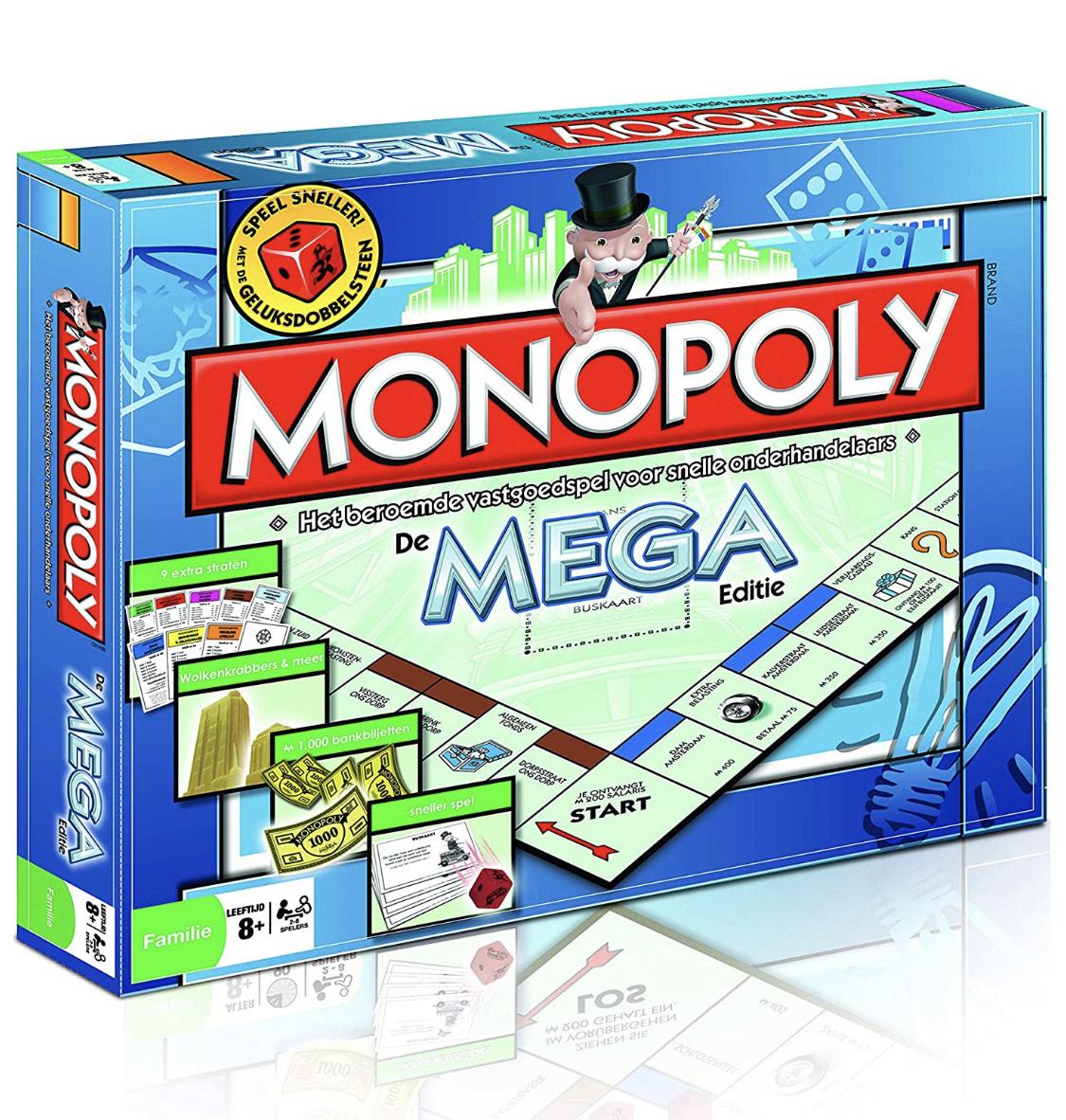 Amazon.nl || Monopoly mega editie