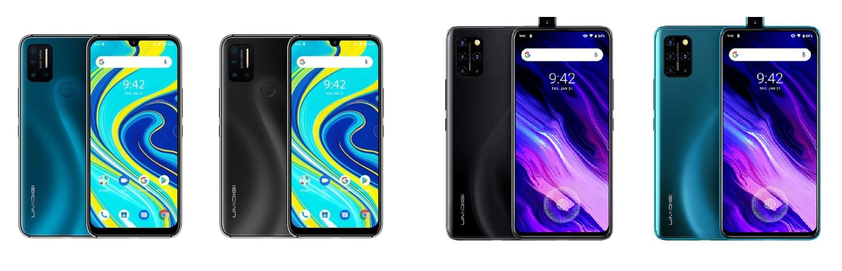 Smartphones Umidigi A7 Pro en Umidigi S5 Pro dikke korting @ Aliexpress
