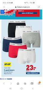 Calvin Klein Boxers 3 pack