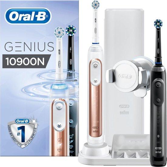Amazon.nl Dagaanbieding: Oral-B Genius 10900N Oplaadbare Elektrische Tandenborstels