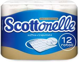 Scottonelle 12-rollen toiletpapier (€0,248 / rol) @ Amazon.nl