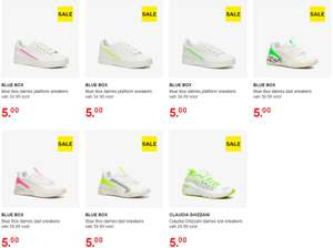 Diverse dames sneakers €5 [80+% korting] @ Scapino