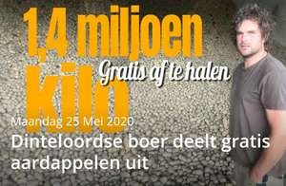 [lokaal] 1,4 miljoen kilo gratis aardappelen @ Dinteloord