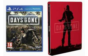 Days gone + limited edition steelbook (PS4)