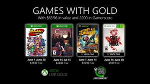 [Games with Gold Juni] Shantae and the Pirate's Curse, Coffee Talk, Destroy All Humans! & Sine Mora [Xbox One][Xbox 360]