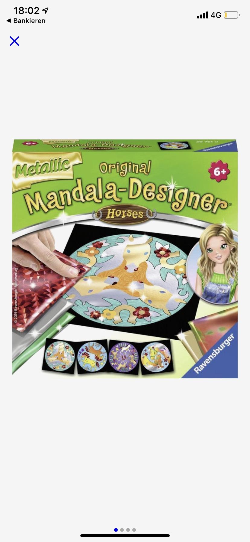 Ravensburger Mandala Designer Metallic Foil Horses