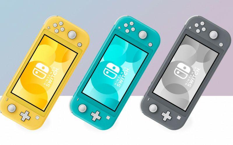 Nintendo Switch Lite (geel, grijs, turkoise)