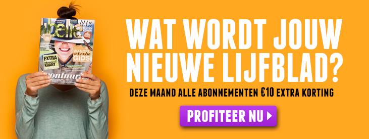 Vouchercode voor €10 extra korting @ Magazine.nl