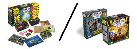 [Dagdeal] Escape Room The Game Megapack voor €26,95 / Jumanji + 2 player Escape Room €27,95 @ ibood