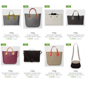O Bag tassen / horloges tot -59% korting [150+ items] @ Limango