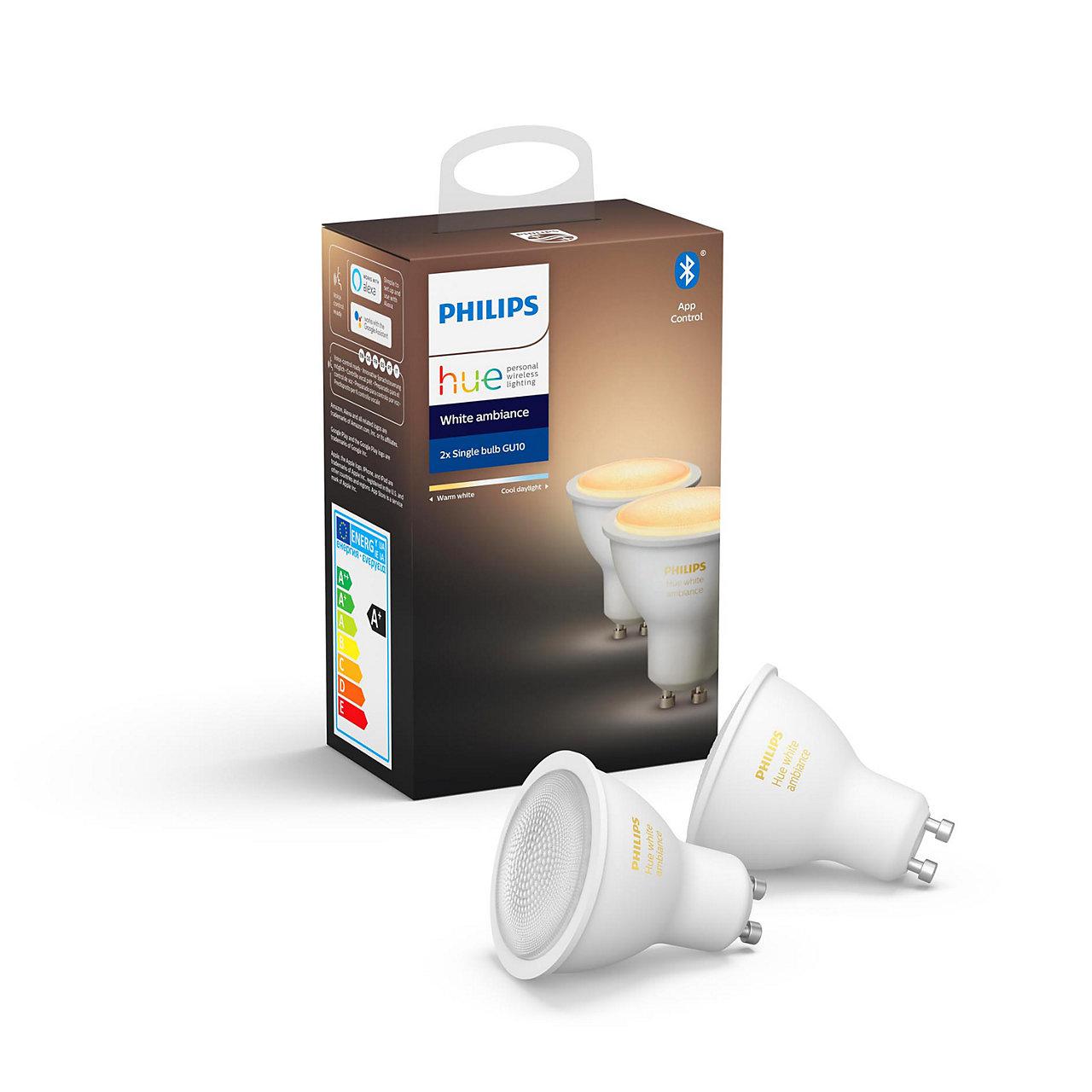 Philips Hue White Ambiance - GU10 Duopack