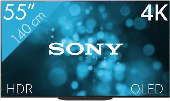 SONY KD-55AG9 4K OLED televisie @ bol.com (Art & Craft)