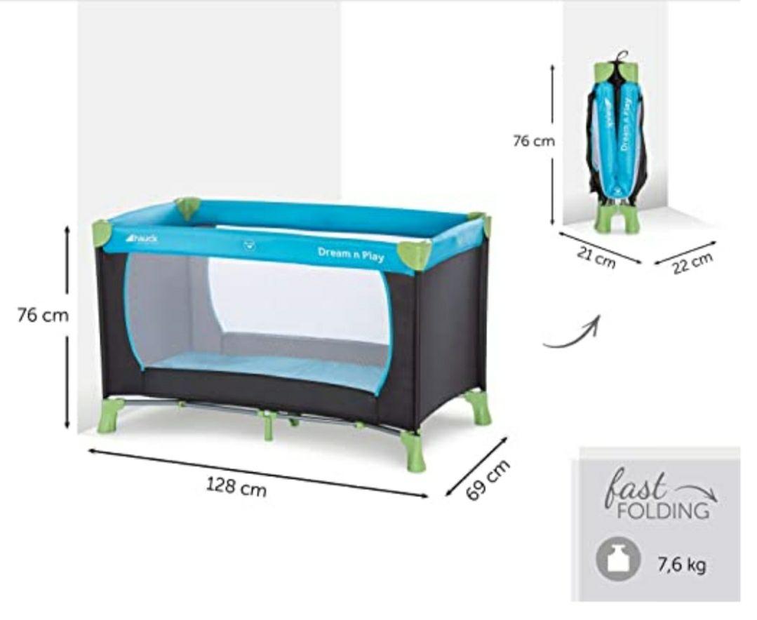 Hauck campingbedje Dream N Play - 120 x 60cm €22,99 @ Amazon.de