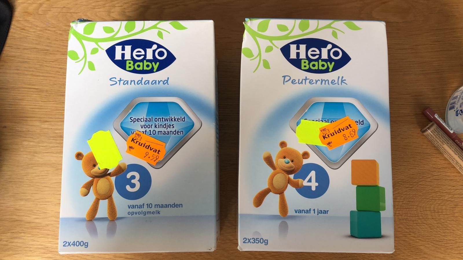 Hero Babyvoeding Flesvoeding -50% bij Kruidvat