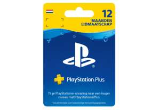 PlayStation Plus Card - 12 maanden @mediamarkt