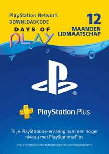 PlayStation Plus Card - 12 maanden @GAMEMANIA