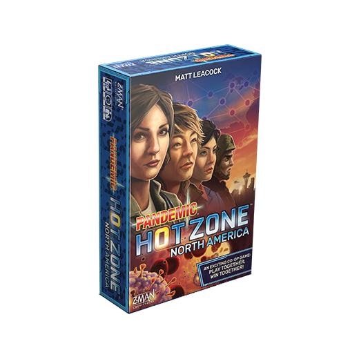 Print & play: Bordspel Pandemic HotZone North-America