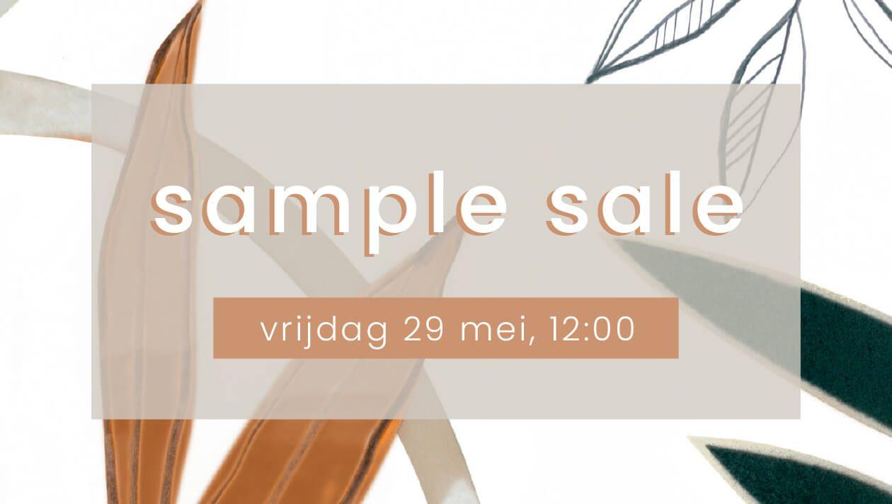 Sample sale Zusss - vanaf vrijdag 29 mei 12:00