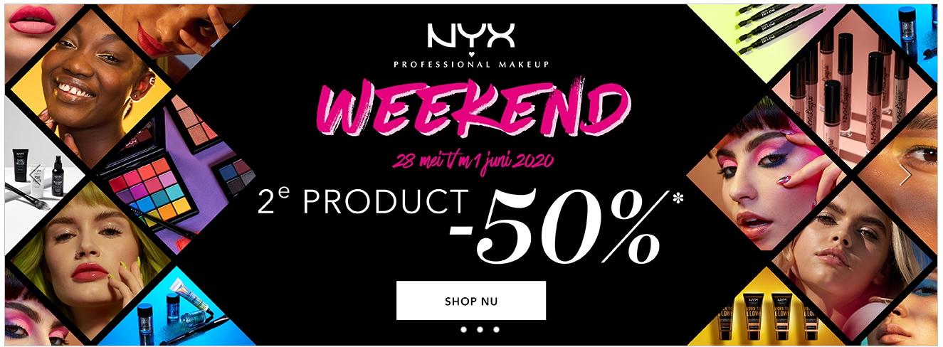 NYX 2e product -50%