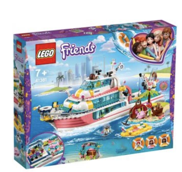 Lego Reddingsboot (41381)
