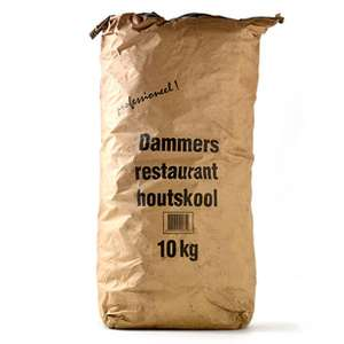 Dammers houtskool 10 Kg voor 15,24 (incl btw)