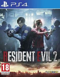 Resident Evil 2 Remake PS4