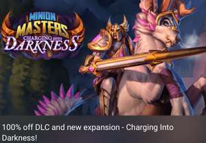 Gratis Minion Masters - Charging into Darkness @ Steam